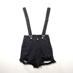 ✨SALE✨ SHEIN Distressed Short Overalls